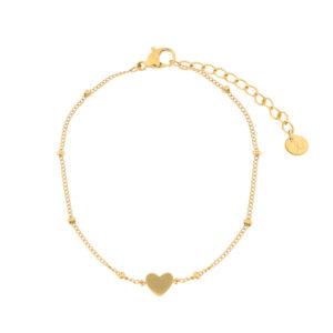 Armband gesloten hart