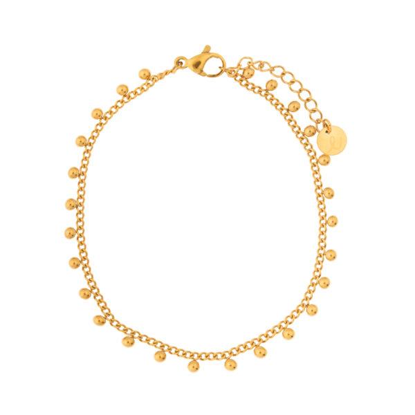 Bracelet-dots-gold