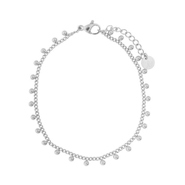 Bracelet-dots-silver