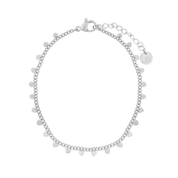 Bracelet-hearts-silver