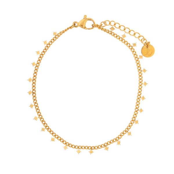 Bracelet-northstars-gold