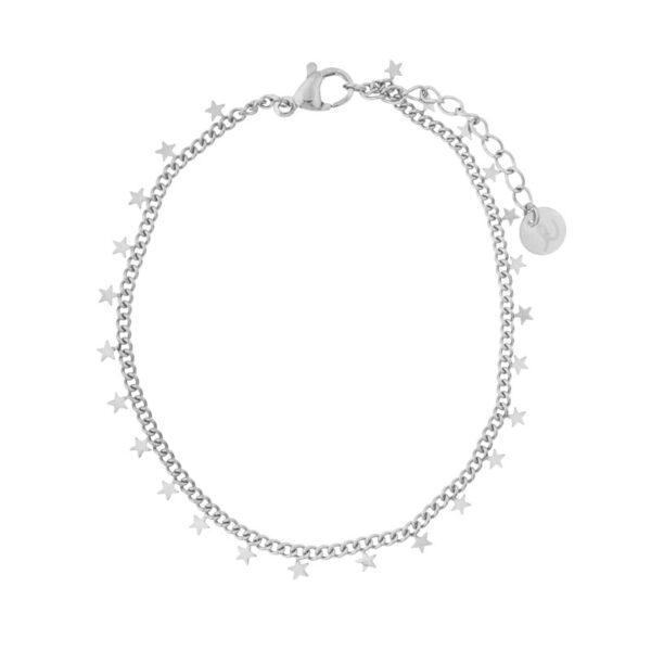 Bracelet-stars-silver