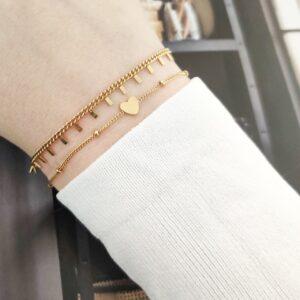Armband tiny bars