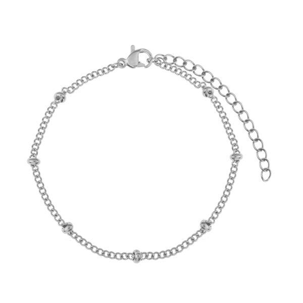 Bracelet-tiny-beads-silver