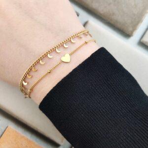 Armband tiny moons