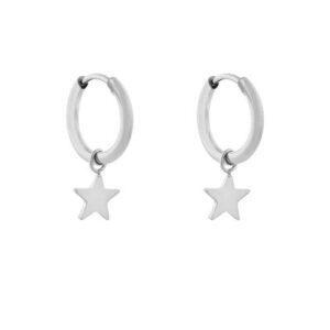 Oorbellen minimalistic star small