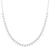 Necklace-tiny-dots-silver