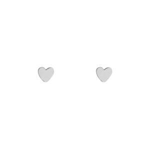 Stud oorbellen hart