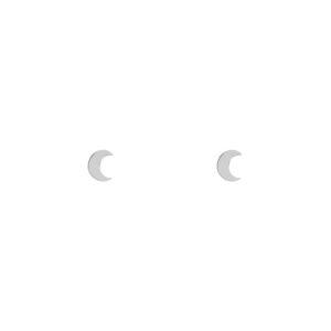 Stud oorbellen maan