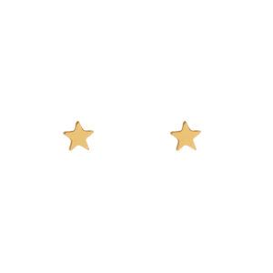 Stud oorbellen ster