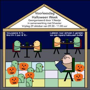Halloween Week voorleesdag vrijdagochtend 29 oktober (t/m 5 jaar) Kind
